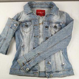 Jeans Jackets Guess Light Blue